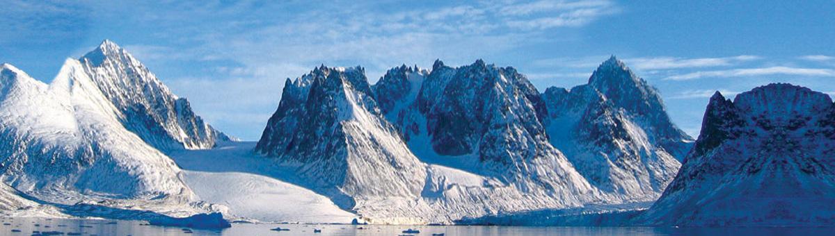 Snøkledde fjell